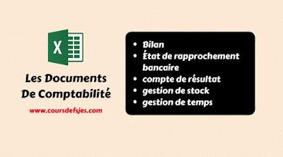 Télécharger Les Documents De Comptabilité Format EXCEL