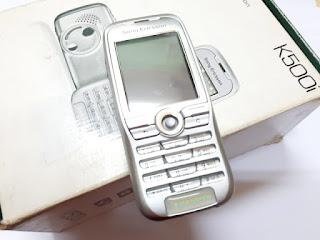 Hape Jadul Sony Ericsson K500i New Sisa Stok Garansi Resmi Sony Ericsson