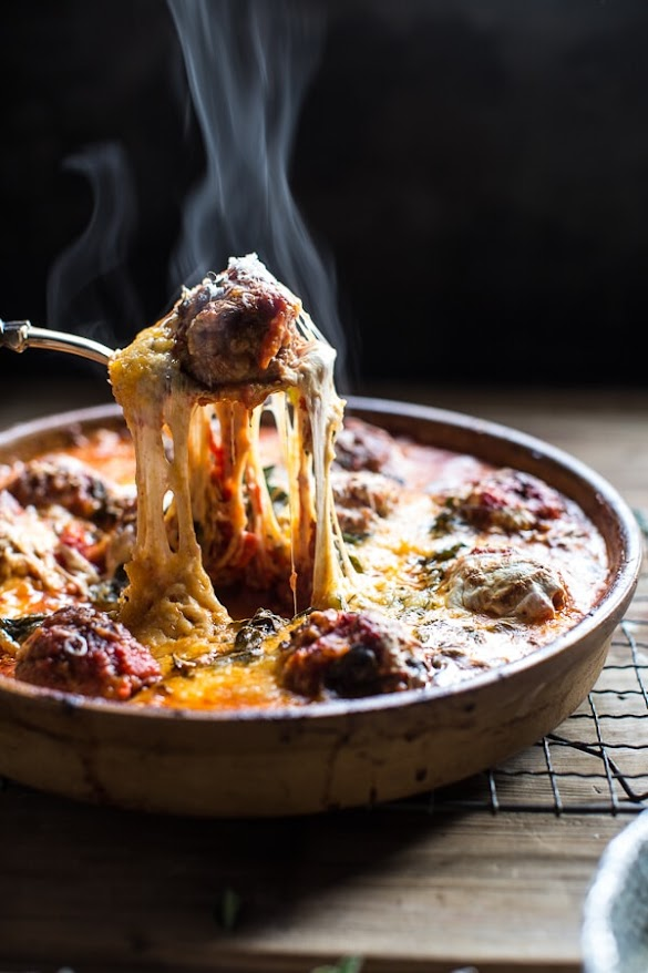 Simple Baked Italian Oregano Meatballs