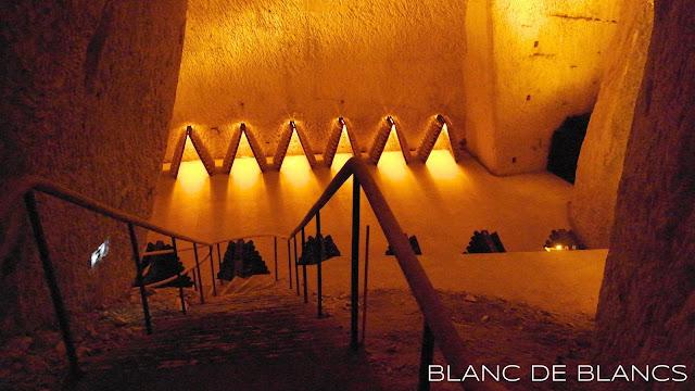Ruinartin kellareissa - www.blancdeblancs.fi