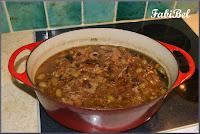 recette d'automne veau aux olives vertes champignons