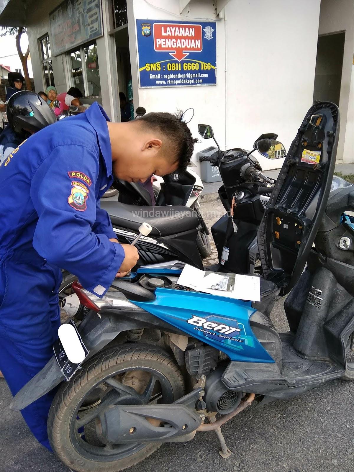 Perpanjang STNK dan Ganti Plat Motor 5 Tahunan di Samsat ...