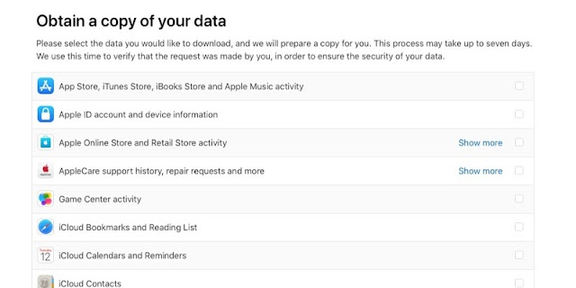Apple Launches New Data and Privacy Page That Allow Users To Download Their Apple IDs Data