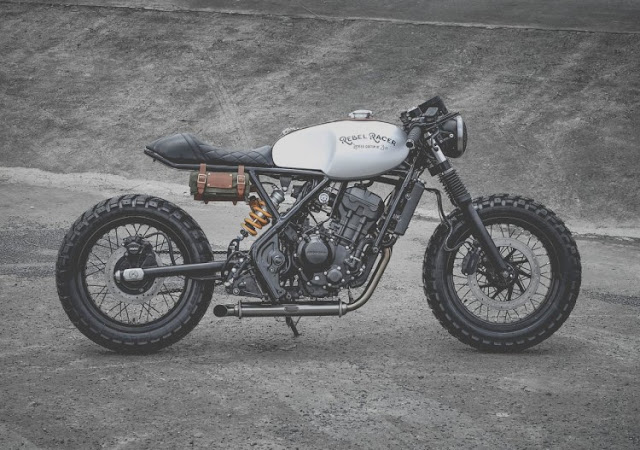 Honda Rebel 300 By Zeus Custom Hell Kustom