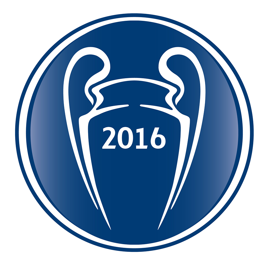 Champions League Trophy Vector Soccer Jersey a...