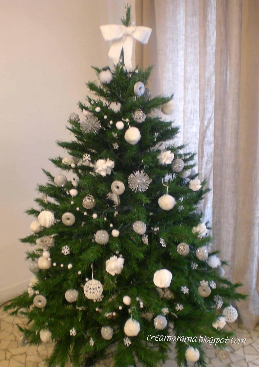 Foto Alberi Di Natale Bianchi diario di una creamamma: un albero di natale tutto bianco e