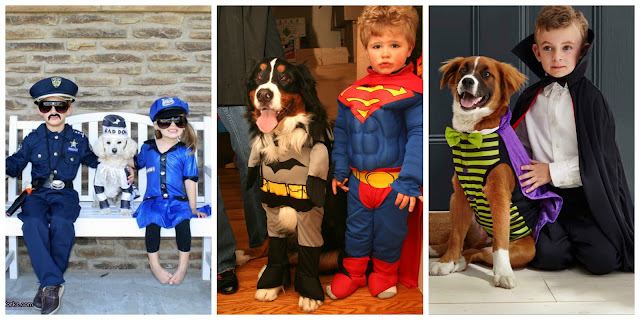 Kids and Their Pets - Costume Party