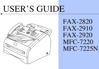 Brother IntelliFax-2820 Manual