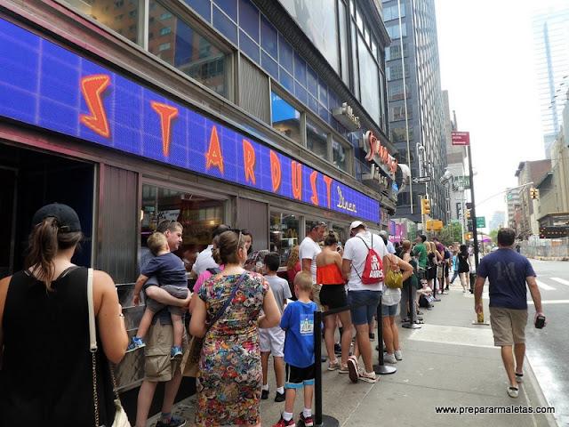 colas para restaurantes en nueva york