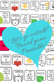 "Printable Game ""Let's go outside"" By Practical Mom"