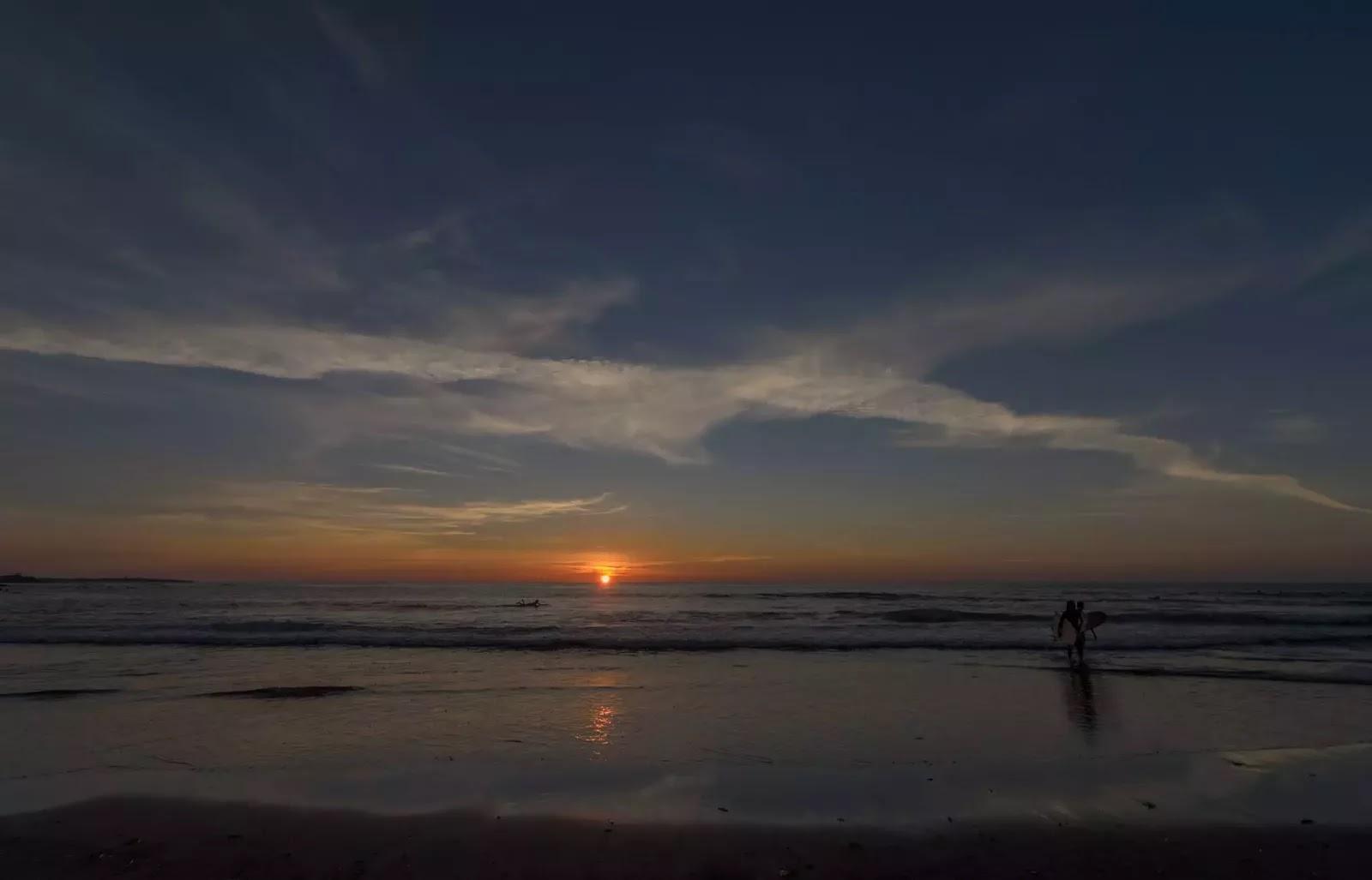 Coastal San Juan Sunset San Fernando La Union Region I Philippines