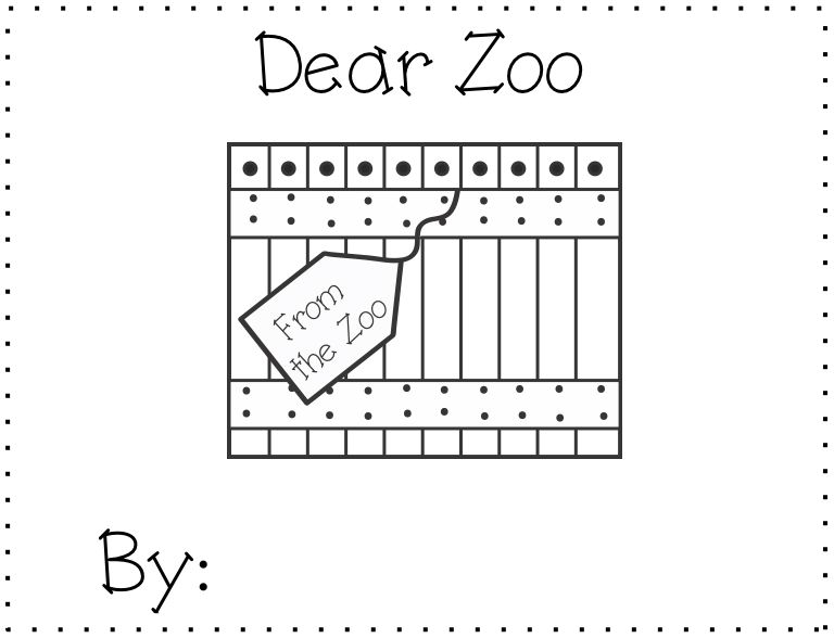 Kindergarten Blooms: Zoo: Ideas to Enhance Your Unit