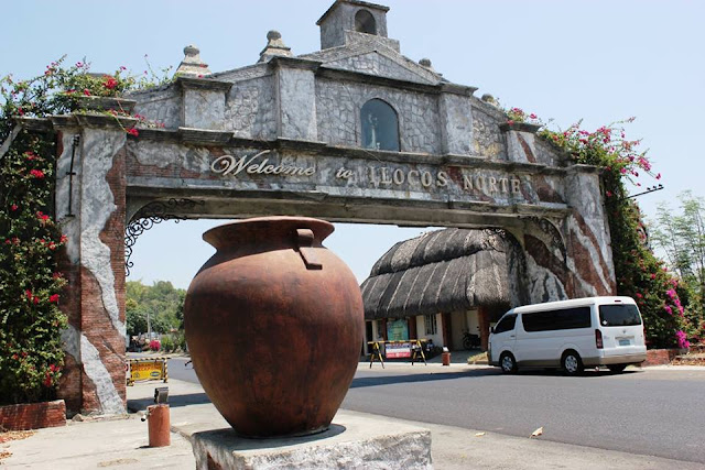 Ilocos Norte Welcome Arch