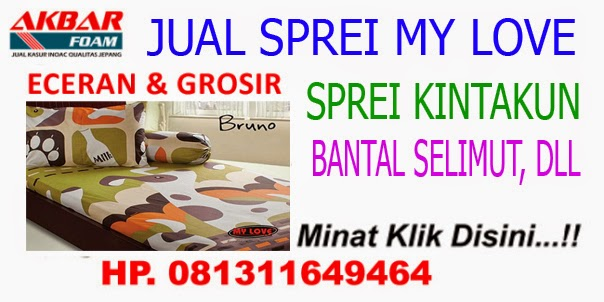 Grosir Sprei My Love Yogyakarta