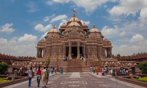 Tourist Places - Akshardham Temple - travelmaniak.info