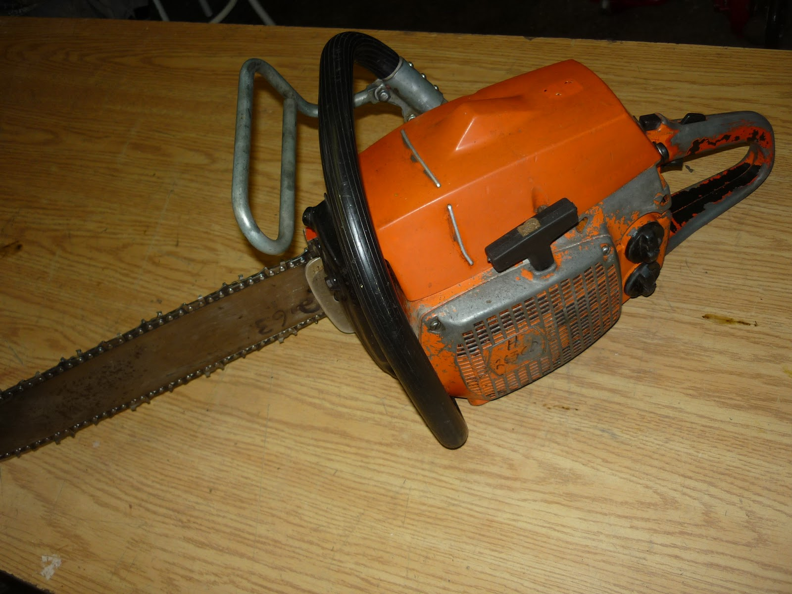 vintage chainsaw collection