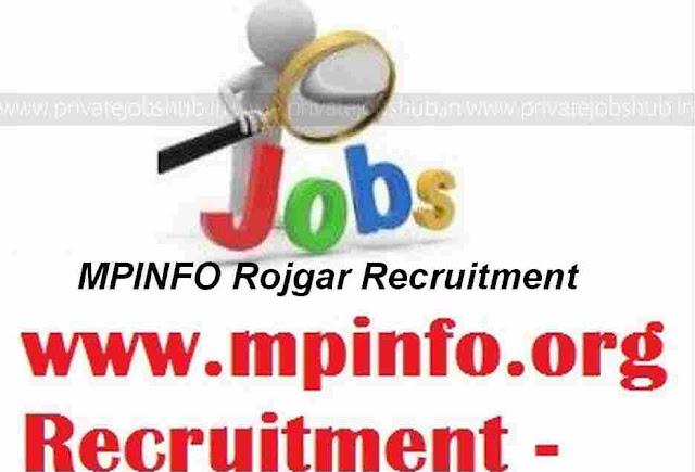 MPINFO Rojgar Recruitment