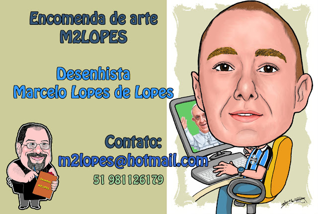 Logomarca, caricaturas, desenhos técnicos e outras artes M2LOPES