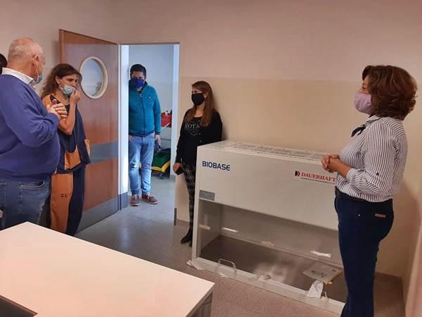 Aprobaron el laboratorio del hospital y entregaron equipamiento al Banco de Leche