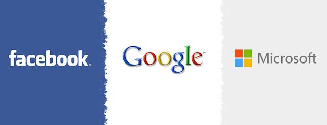 Google, Facebook e Microsoft moção conjunta para dar suporte a Apple