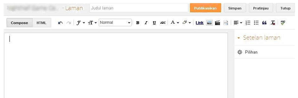 Cara membuat Pages atau Laman pada Blogger https://www.rokanhuluonline.com