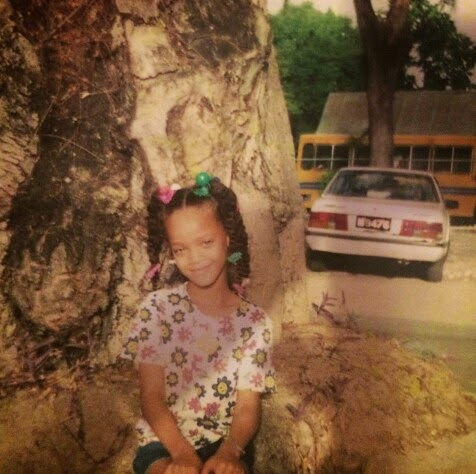 Rihanna Shares Childhood Pictures | The People's Blog