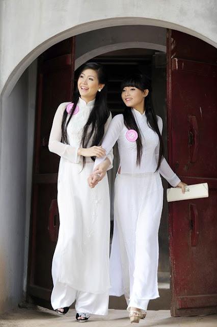 Chicas asiaticas de Vietnam