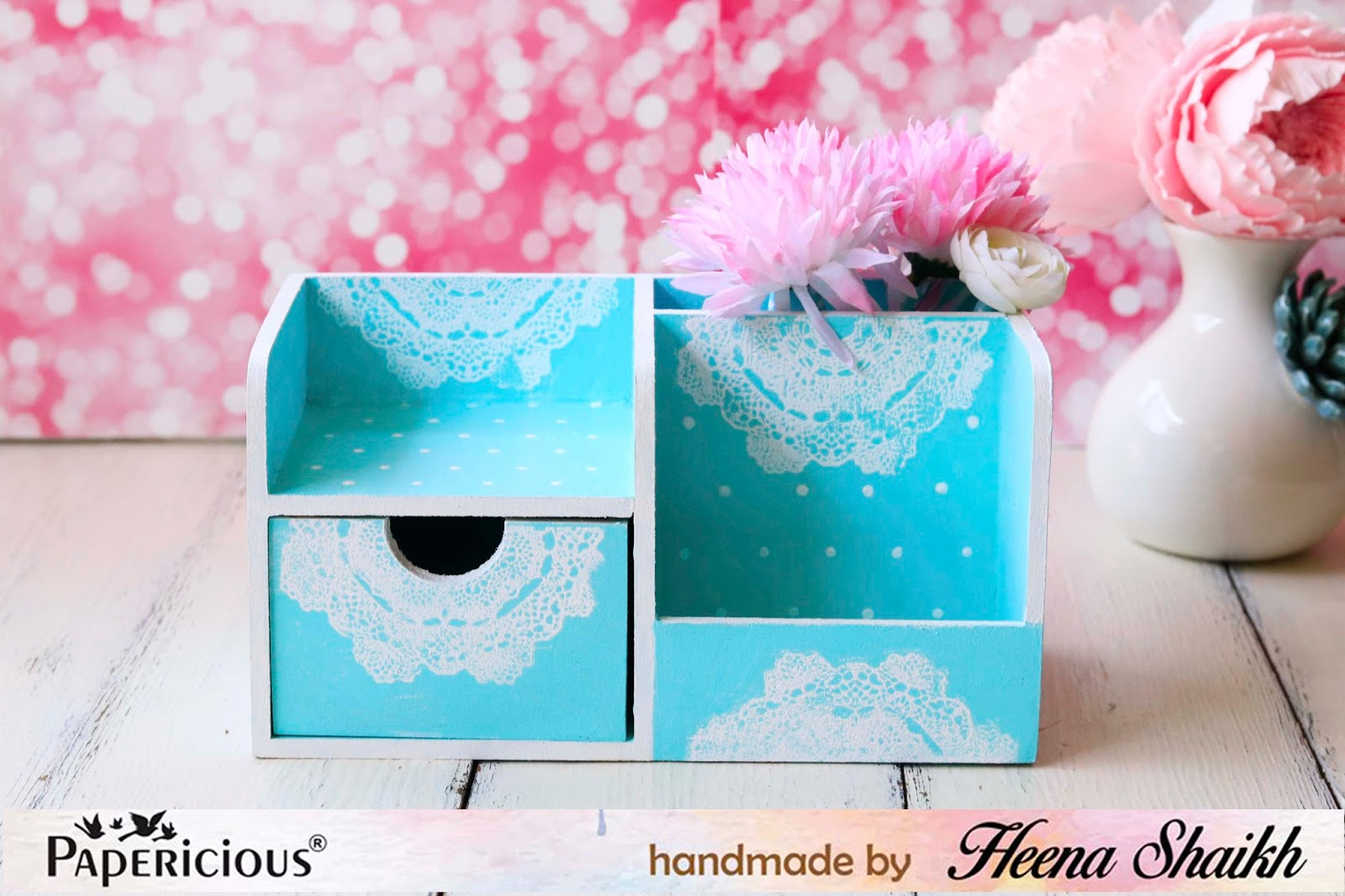 DIY Desk Decor and Tags using Etheral Paper Pack | Papericious