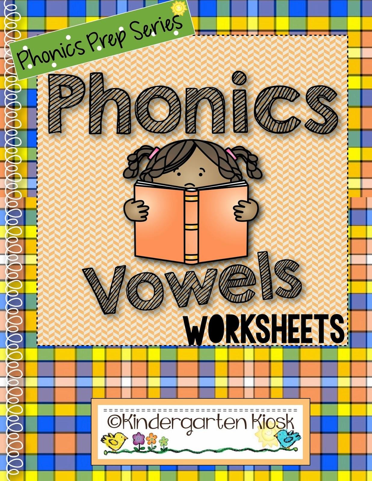 Kindergarten Kiosk Phonics Prep Consonant Digraphs