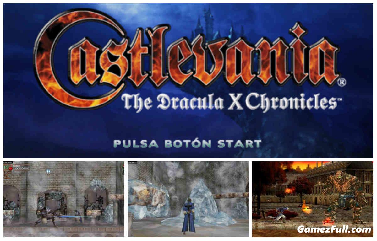 Castlevania: The Dracula X Chronicles PSP ESPAÑOL