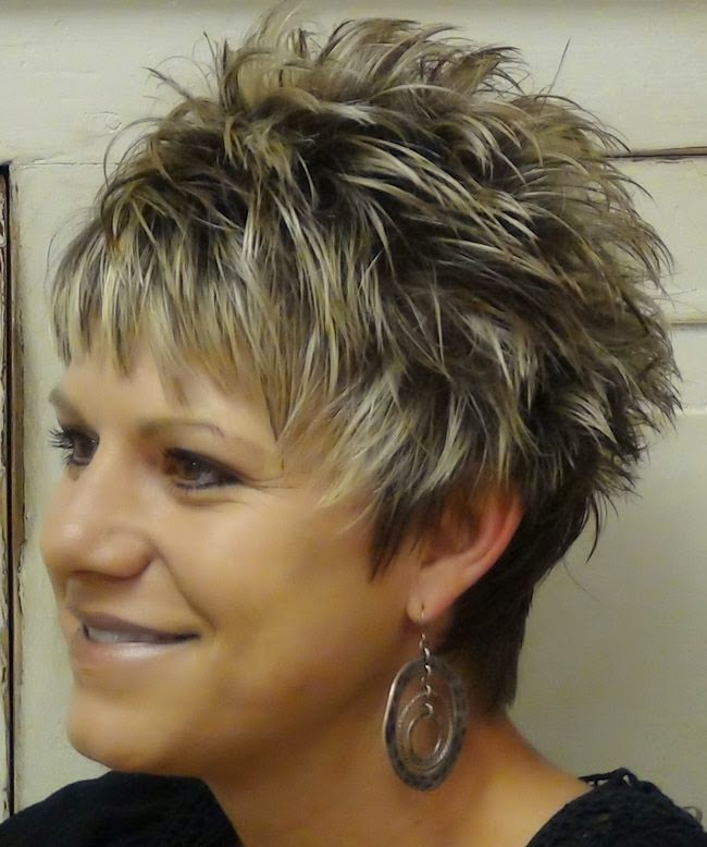 Short+Hair+Styles+For+Women+Over+50 | Back to Post :Examples of Short Spikey Hairstyles for Women
