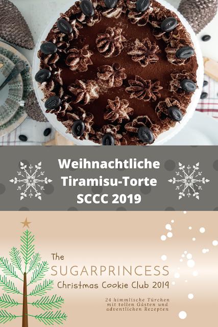 Weihnachtliche Tiramisu-Torte - Rezept von Aus der Lameng | SCCC 2019: Türchen Nr. 20