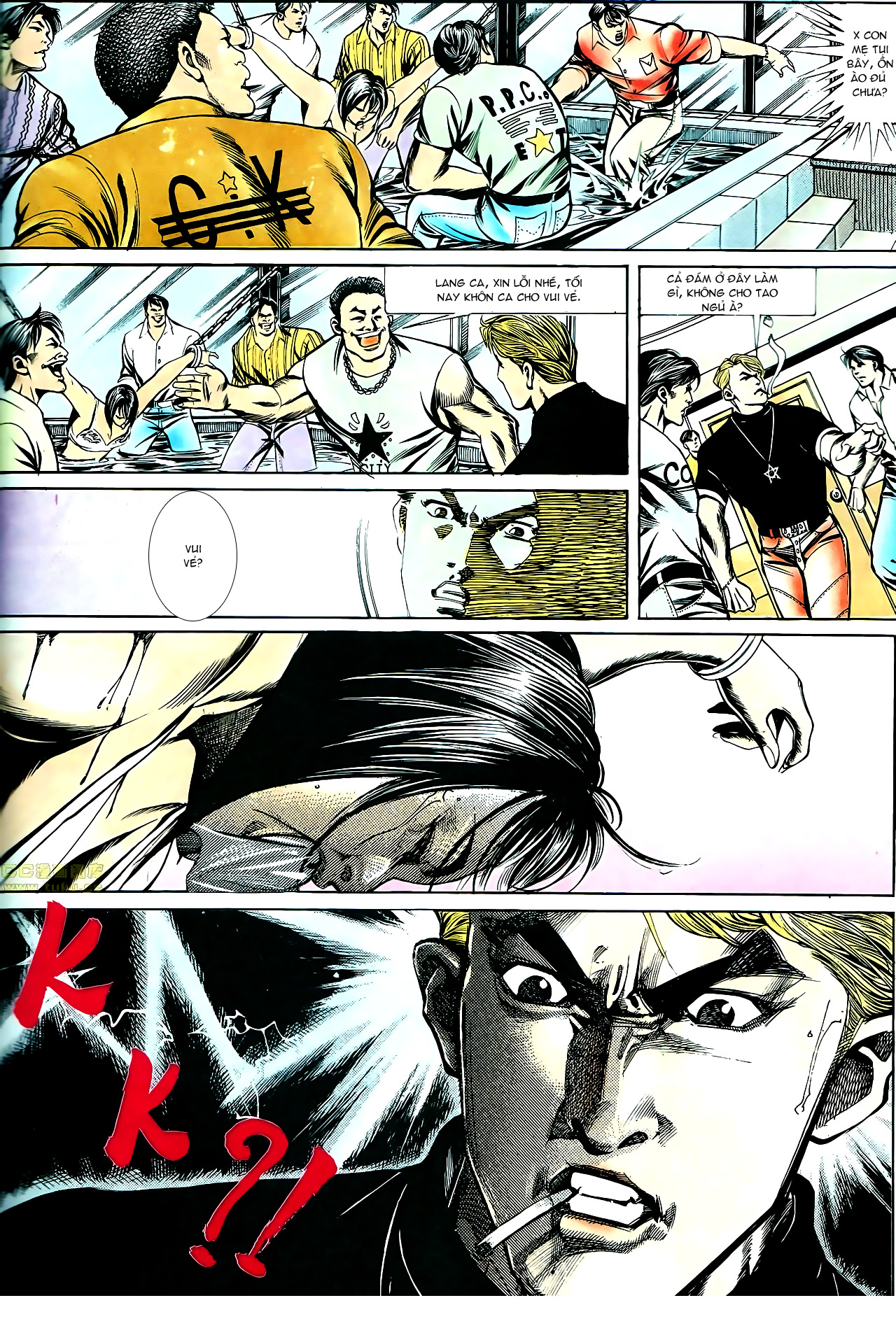 Người Trong Giang Hồ chapter 140: vây giết a khôn trang 26