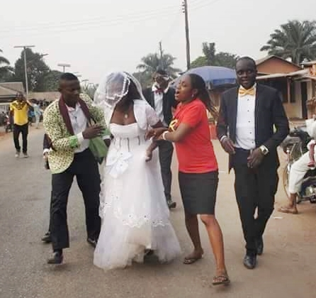Shocking! Runaway Bride Found in a Lagos Hotel Room with Her Ex-Lover After Failing to Show Up at Her Wedding