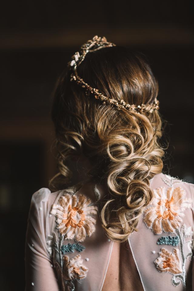 editorial la novia del palomar - armony gijon trenza novia