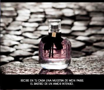 muestra perfume mon paris