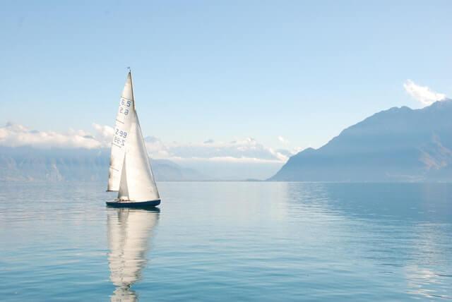 Beautiful Boat Daylight Foggy HD Copyright Free Image