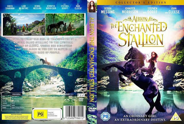Albion The Enchanted Stallion DVD Cover