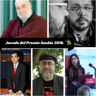 Jurado del Premio Anubis 2018.