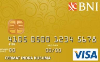 Kartu Kredit BNI Gold