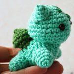 patron gratis bulbasaur pokemon amigurumi