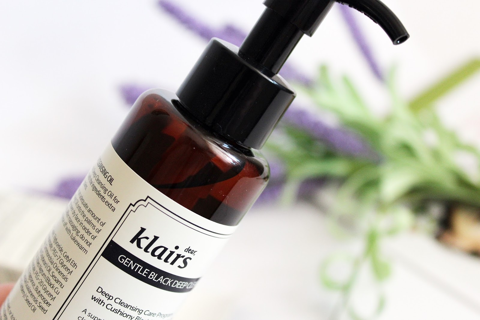 Klairs, Gentle Black Deep Cleansing Oil