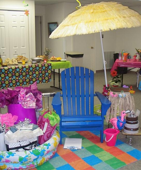 Hawaiian Themed Wedding Ideas: Social: Luau Bridal Shower