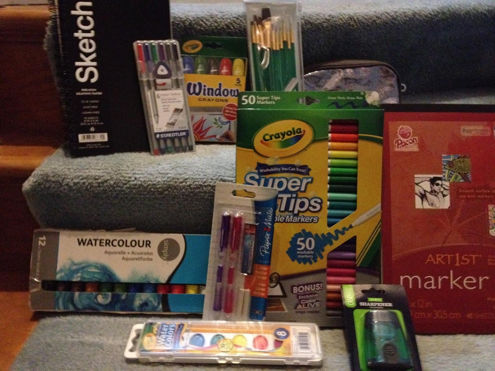 nattosoup studio art and process blog walmart art supply review