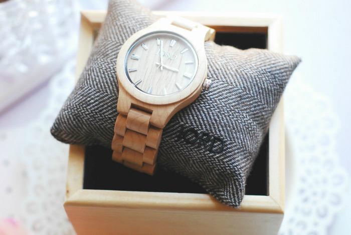 Jord Fieldcrest wood watch review image