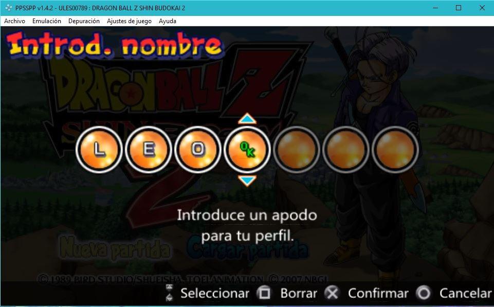 Descargar Dragon Ball Z Shin Budokai 2 ESPAÑOL ANDROID Y PC