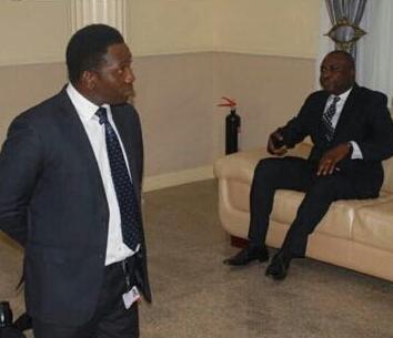 ado ekiti zenith bank manager kneels down fayose