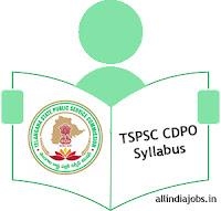 TSPSC CDPO Syllabus