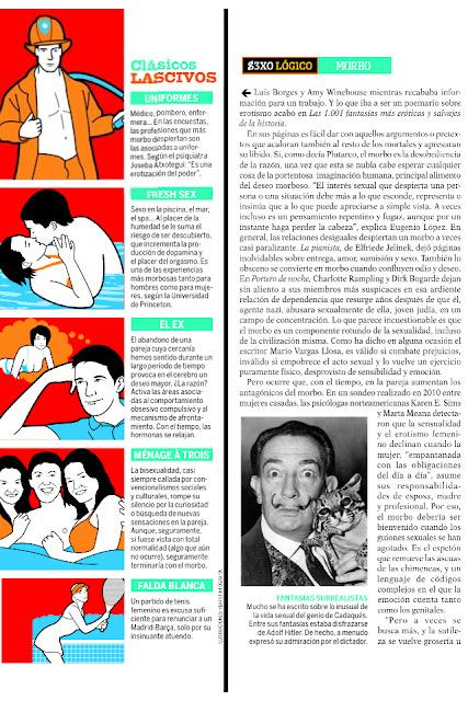 Revista QUO de este mes   fantasías y morbo de Roser Amills