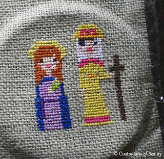 Cross Stitch Saints | by CustodiansofBeauty.blogspot.com